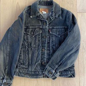 Levi's Gray Denim Jacket